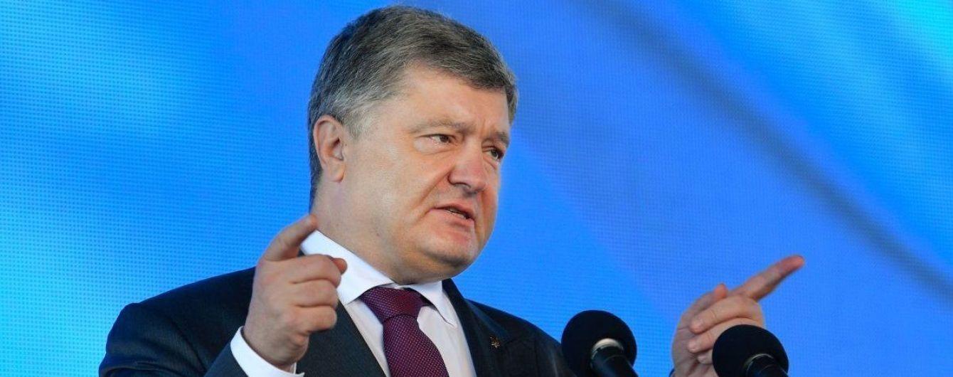 Порошенко закликав активізувати діяльність Червоного Хреста для захисту прав політв'язнів в РФ