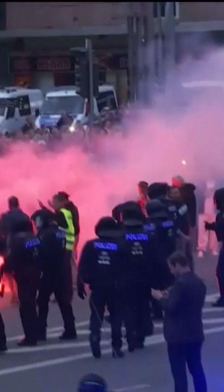 20 человек получили ранения после беспорядков в Германии