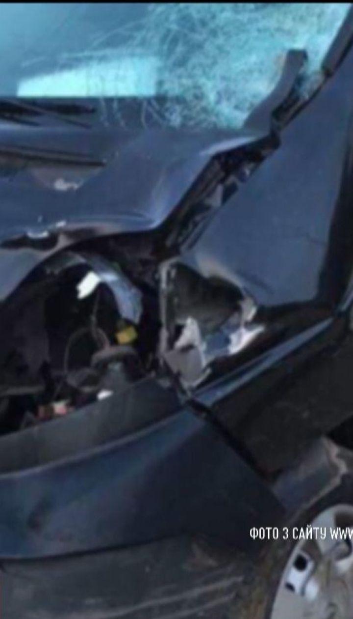 На Львовщине пьяный милиционер сбил двух скутеристов
