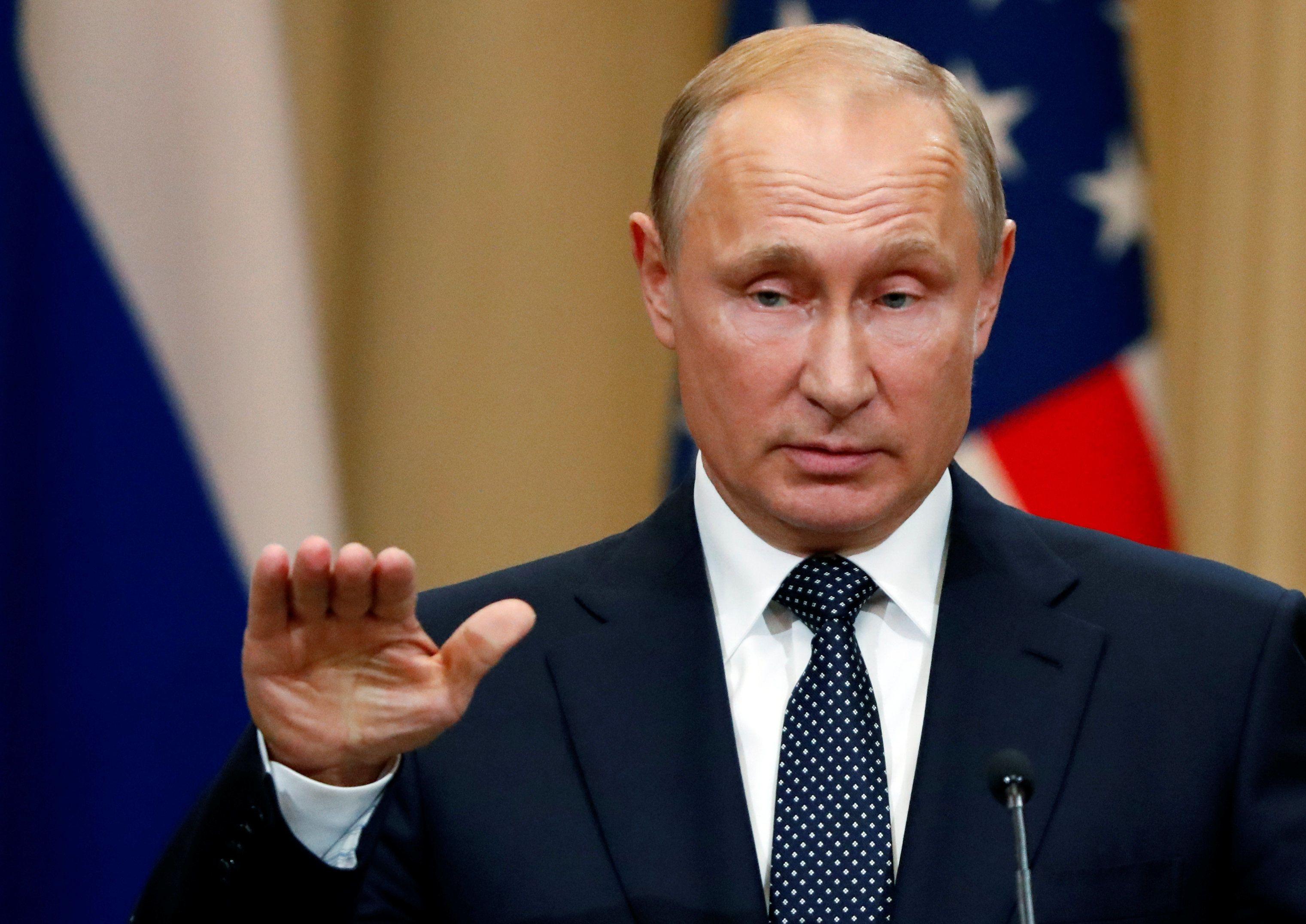Путін на прес-конференції з Трампом