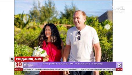 Сальма Хайек и ее муж Франсуа-Анри Пино повторили свою свадебную церемонию