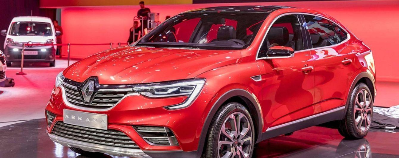 В Киеве заметили модель Renault, которая может быть собрана на ЗАЗ