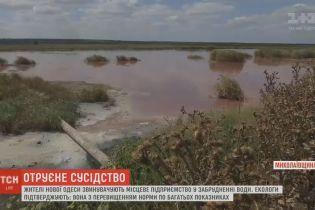 На Миколаївщині маслозавод брудними стоками спричинив місцеву екологічну катастрофу