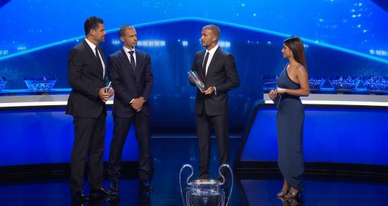 Девід Бекхем отримав спеціальну нагороду від УЄФА
