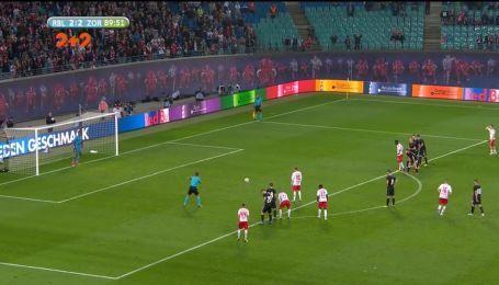 РБ Лейпциг – Зоря – 3:2. Відео голу Форсберга з пенальті