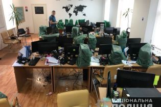 Киберполиция накрыла киевский офис мошеннической онлайн-биржи