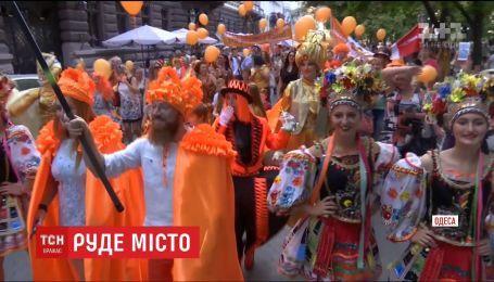 В Одессе состоялся фестиваль рыжеволосых