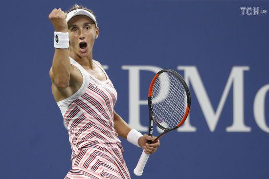 Цуренко створила суперсенсацію на US Open, вибивши другу ракетку світу