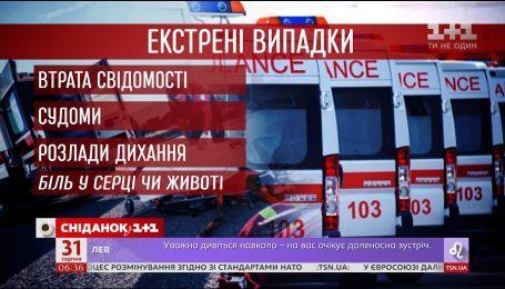 Что следует знать об изменениях в работе скорой помощи в Украине