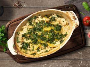 Вечеря на двох за 50 грн: картопляна запіканка з куркою