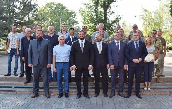 На Миколаївщині ветерани АТО отримали грошові сертифікати на відкриття власного бізнесу