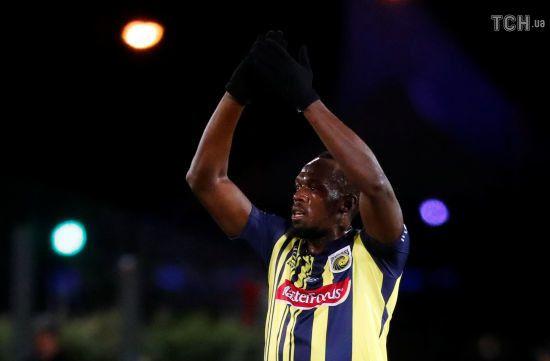 Найшвидша людина світу Усейн Болт дебютував у професійному футболі