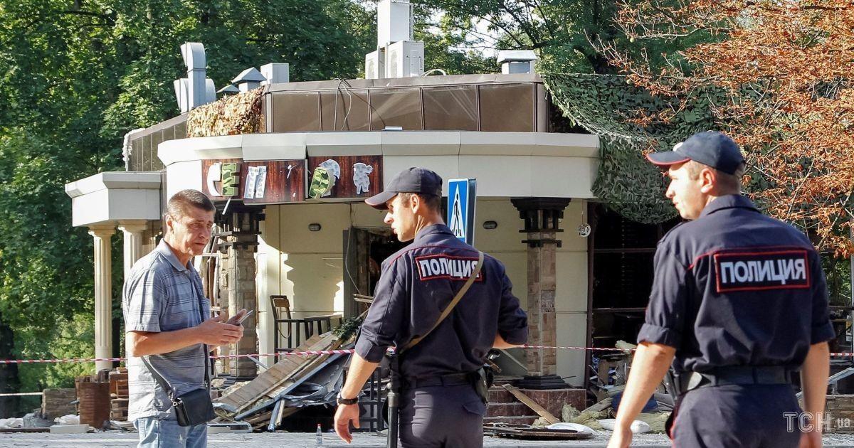 Кафе, де підірвали Захарченка