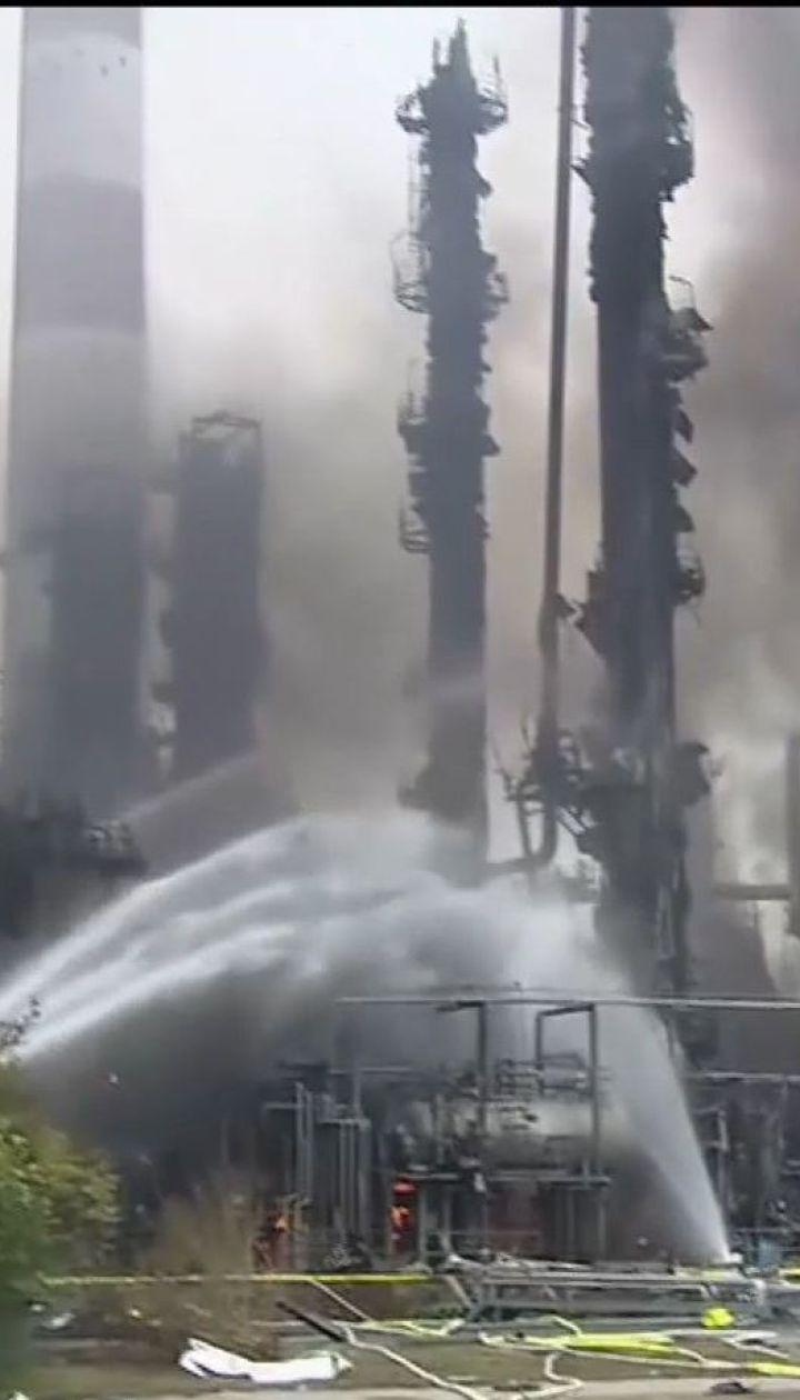 В Германии взорвался нефтеперерабатывающий завод