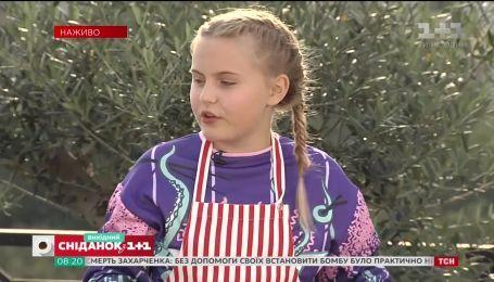 Рецепт оладий на завтрак от школьницы Софии Корецкой