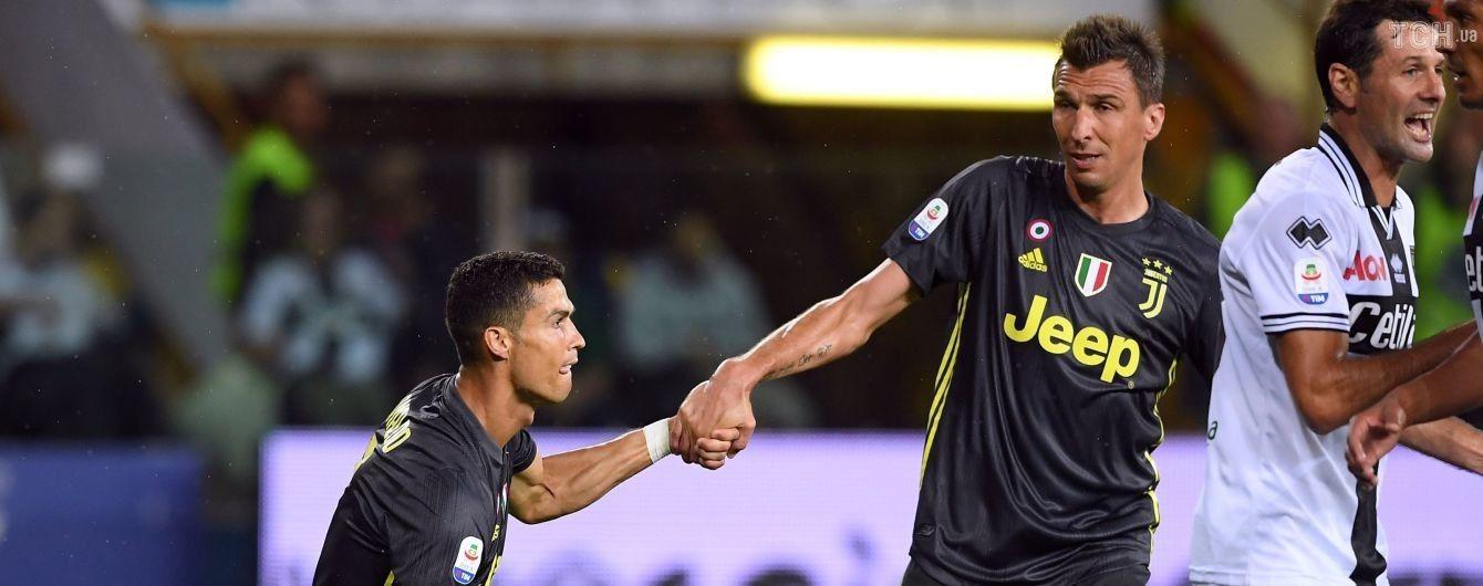 """""""Ювентус"""" здолав на виїзді новачка Серії А, Роналду продовжує """"мовчати"""""""