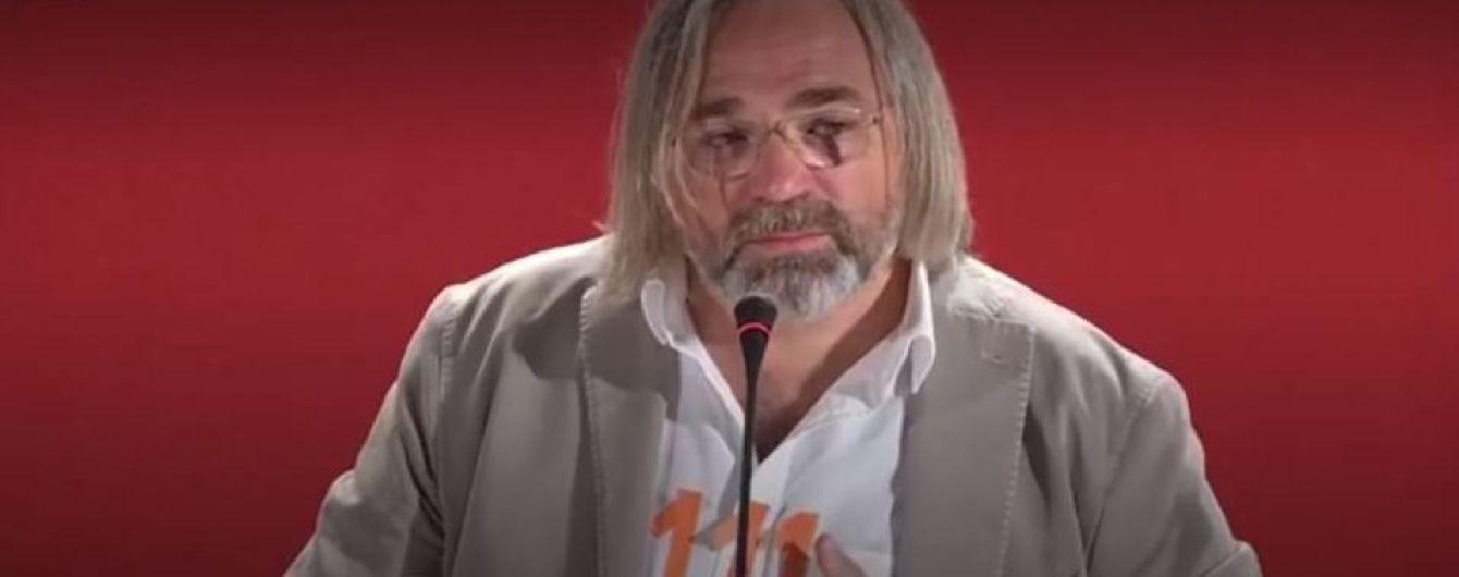 Російський режисер зі сльозами на очах закликав підтримати Сенцова на Венеційському кінофестивалі