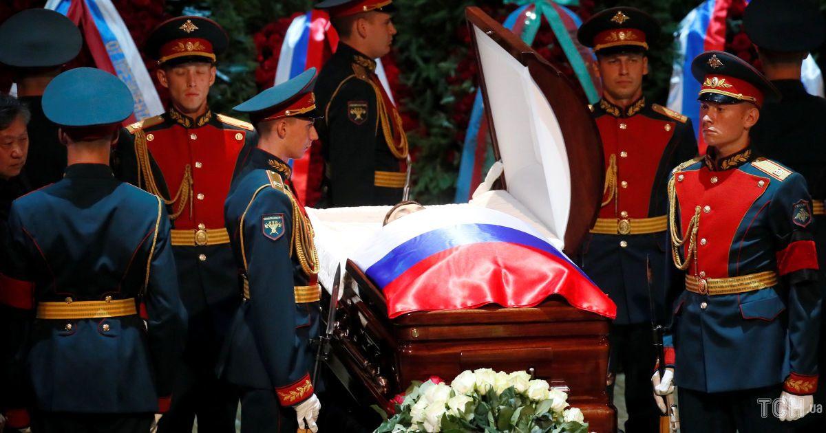Прощание с Иосифом Кобзоном в России
