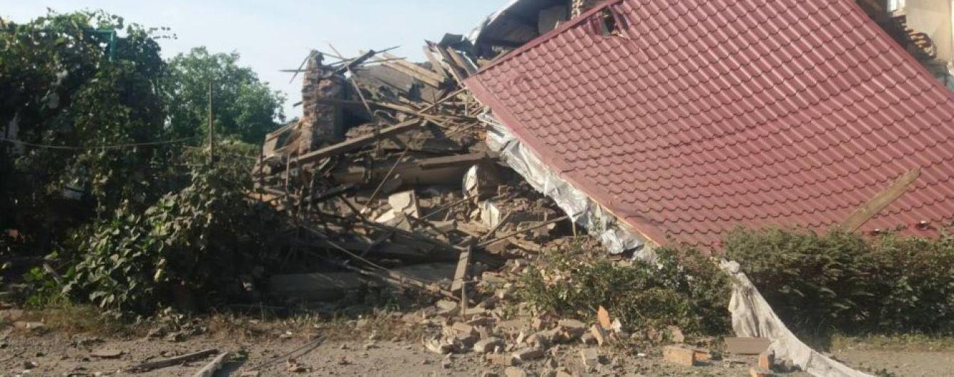 На Закарпатті потужний вибух вщент розтрощив житловий будинок
