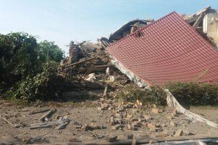 На Закарпатье мощный взрыв разнес в щепки жилой дом