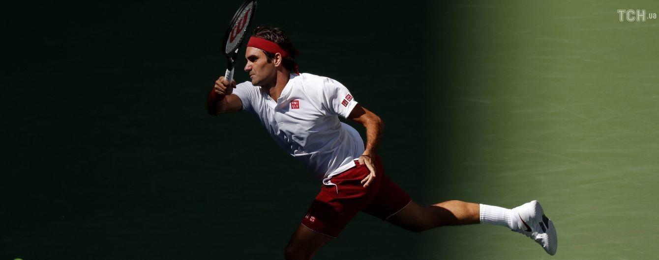 Это просто космос: Федерер совершил магический удар на US Open, от которого был в шоке даже соперник