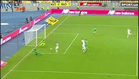 Динамо – Карпаты – 0:1. Видео гола Шведа