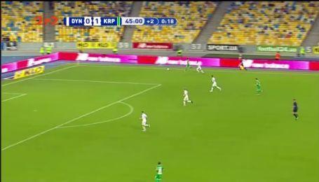 Динамо – Карпаты – 0:2. Видео гола Шведа
