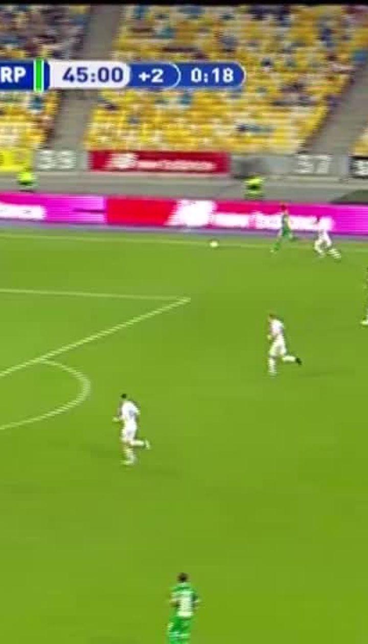 Динамо – Карпати – 0:2. Відео голу Шведа
