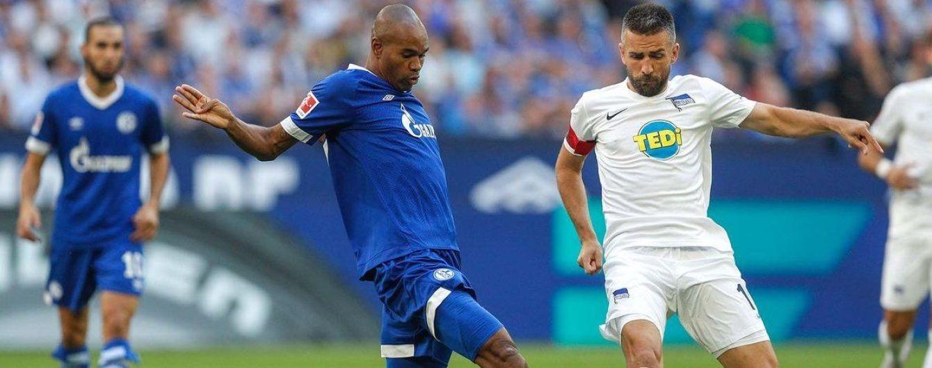 """""""Шальке"""" зазнав другої поразки у двох стартових матчах Бундесліги, Коноплянка отримав вилучення"""