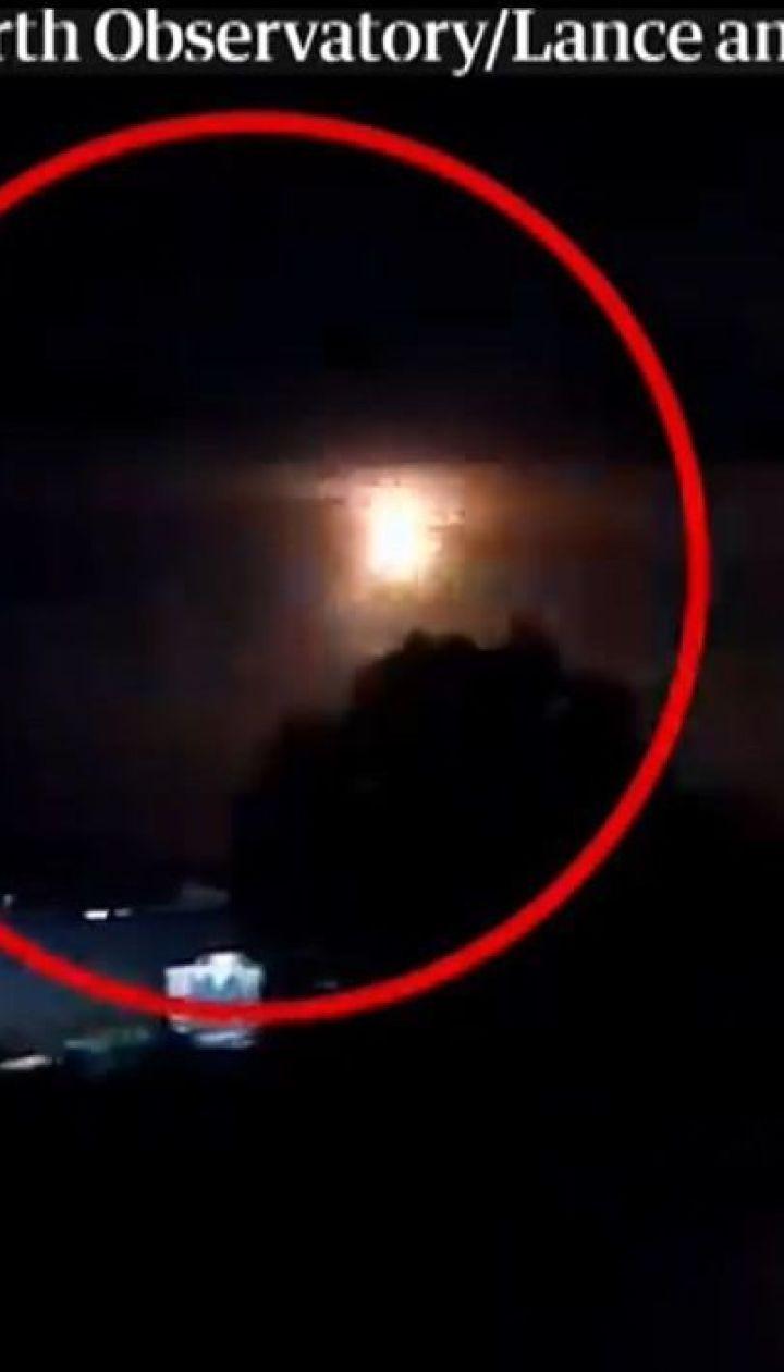 Над австралійським містом Перт на шаленій швидкості пролетів метеорит