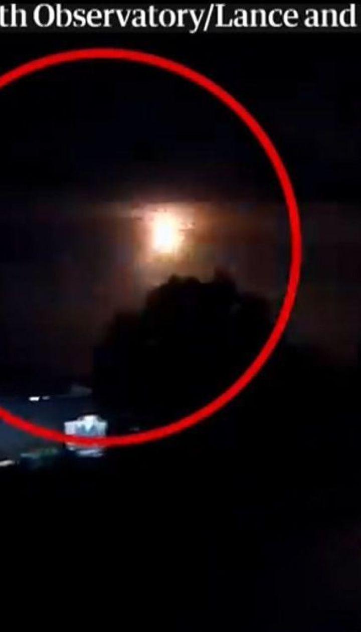 Над австралийским городом Перт на большой скорости пролетел метеорит