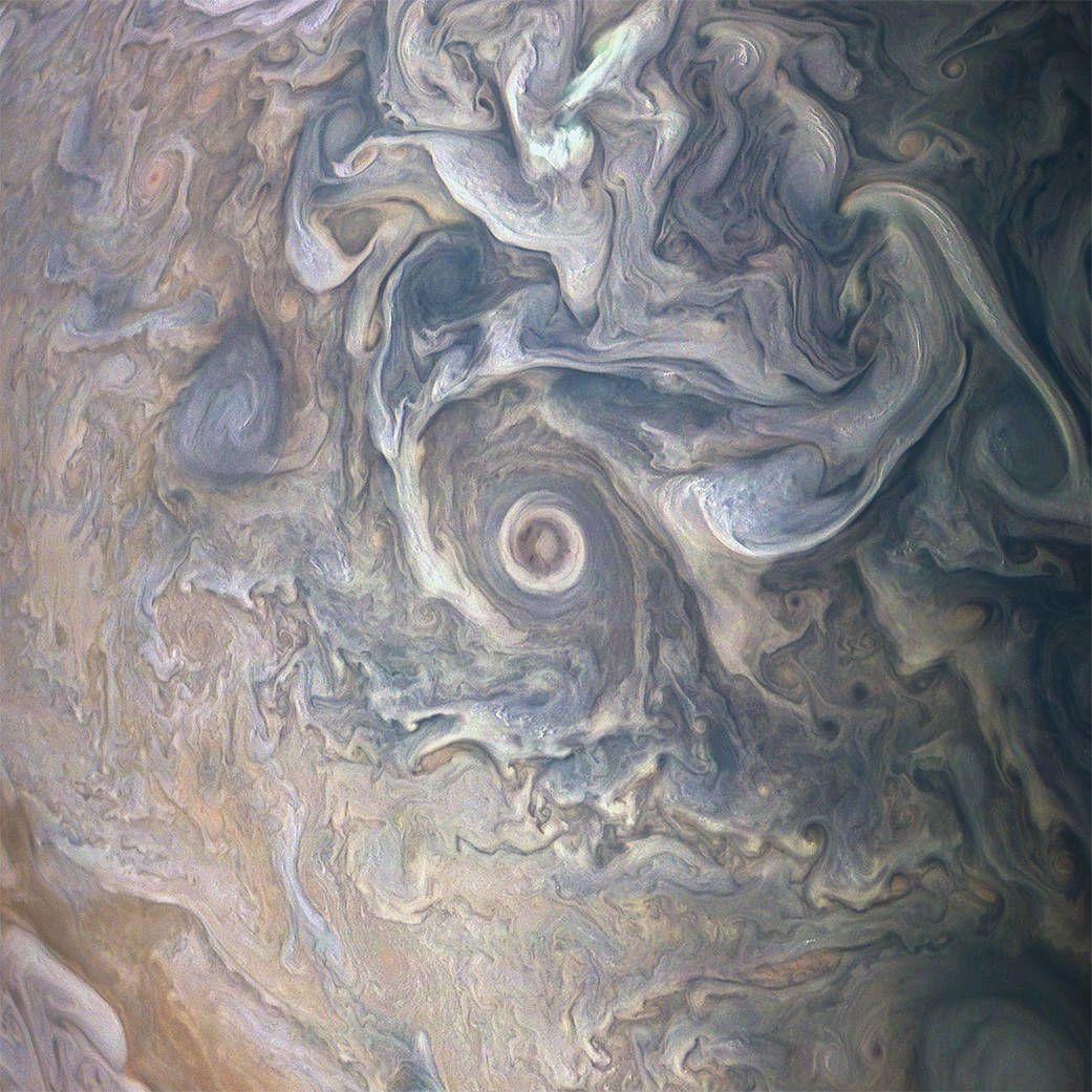 Хмари на Юпітері