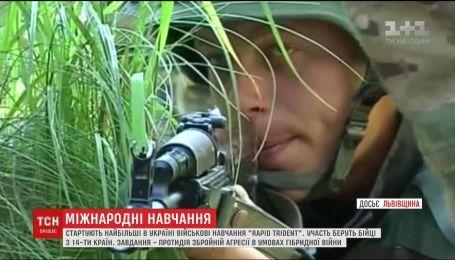 На Львівщині стартують найбільші в Україні військові навчання