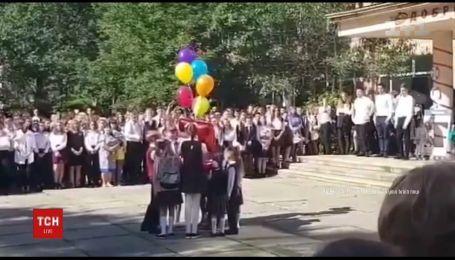 В российском Якутске школьная линейка закончилась конфузом