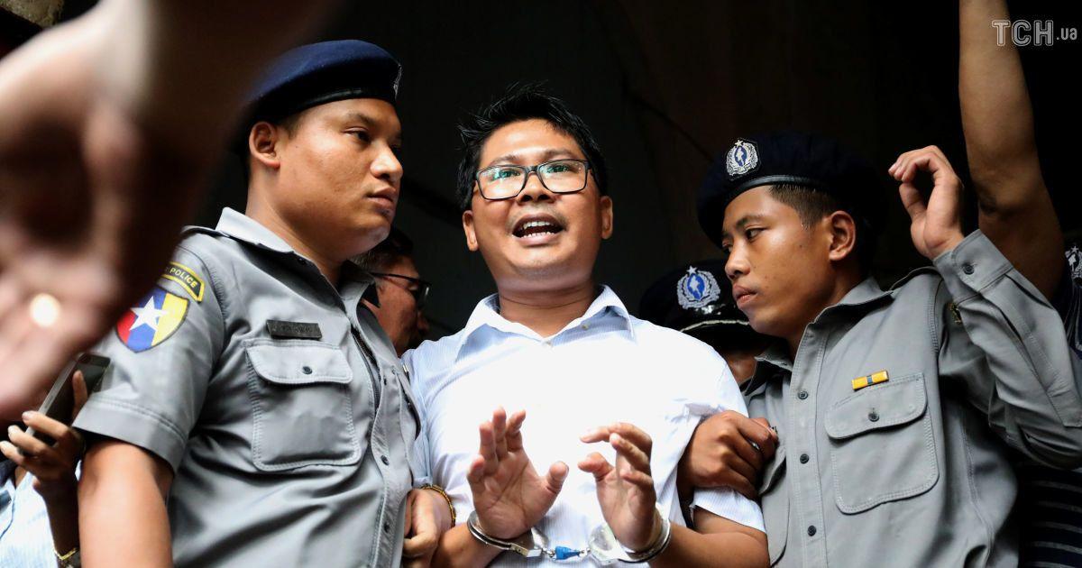 Журналистов Reuters осудили в Мьянме к семи годам заключения
