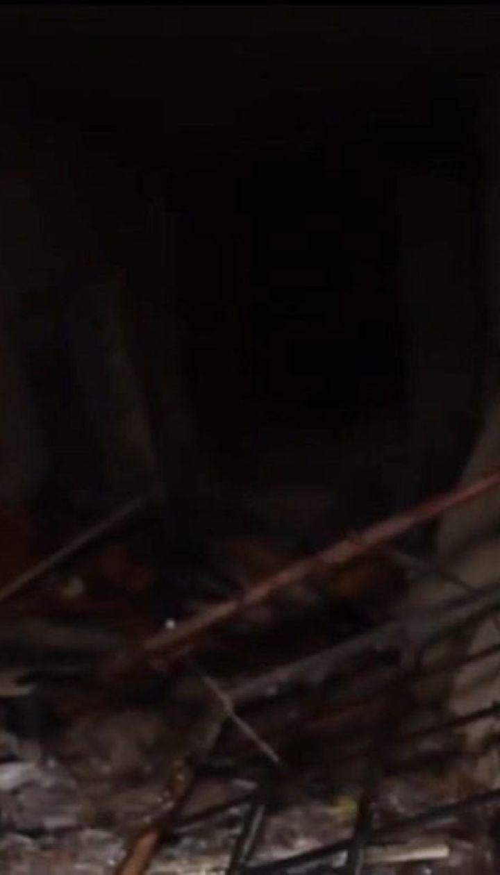 В Днепре ночью загорелось студенческое общежитие
