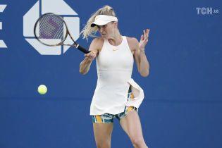Світоліна зазнала розгромної поразки та вилетіла з US Open