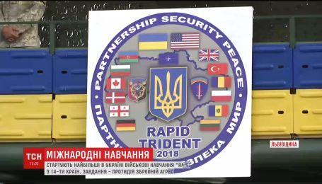В военных учениях на Львовщине примут участие бойцы из 14 стран мира