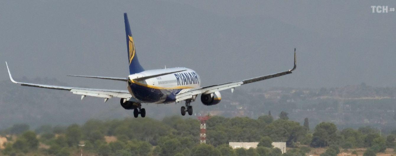 """До """"Борисполя"""" прилетів перший рейс лоукостера Ryanair"""