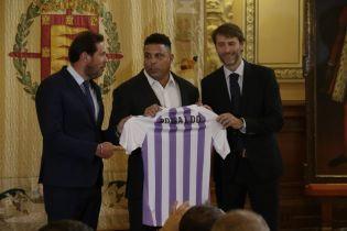 Бразильська легенда Роналдо придбав іспанський футбльний клуб