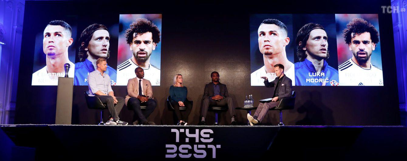 Опять без Месси. Стали известны имена претендентов на звание лучшего футболиста по версии ФИФА