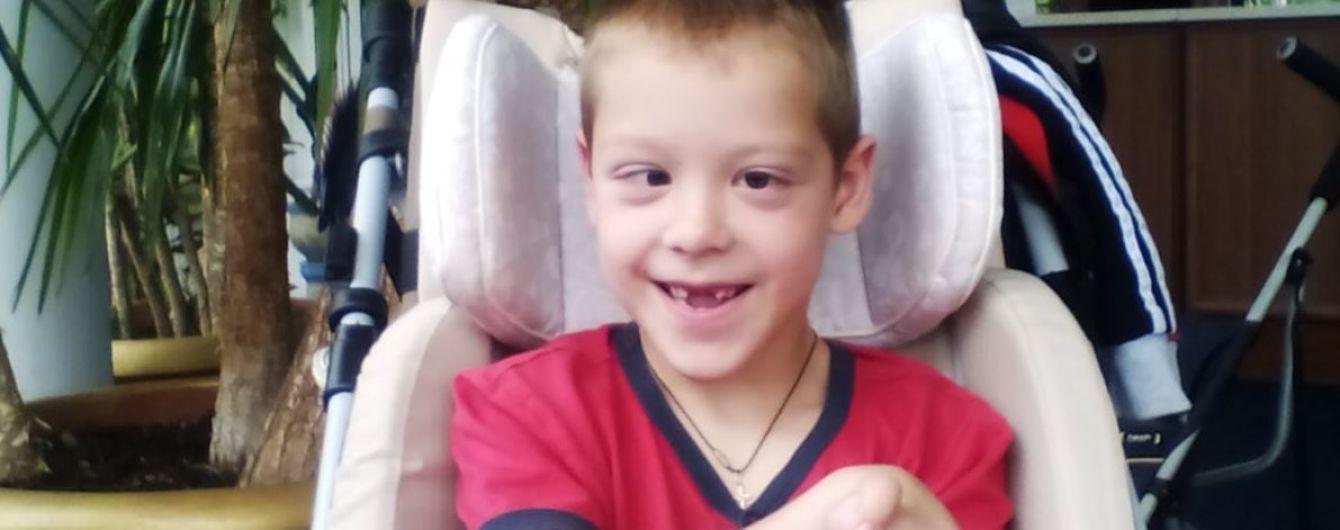 О милости неравнодушных просит мама 7-летнего Саши