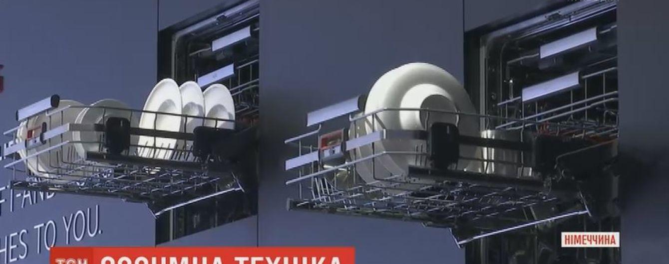 Шкаф для стирки и вибрирующая доска для похудения: в Берлине демонстрируют технику будущего