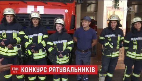 Конкурс на лучший портрет чрезвычайника при выполнении объявила столичная спасательная служба