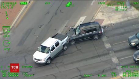 Американка с младенцем в машине пыталась убежать от полиции и попала в ДТП