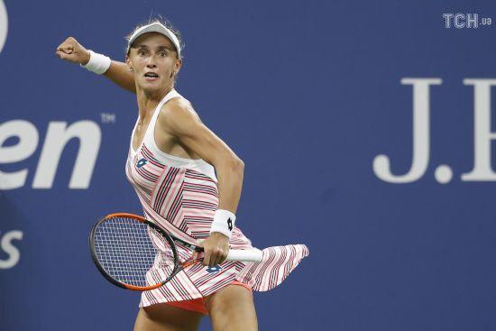 СуперЛеся підкорює Америку. Цуренко вийшла у чвертьфінал US Open
