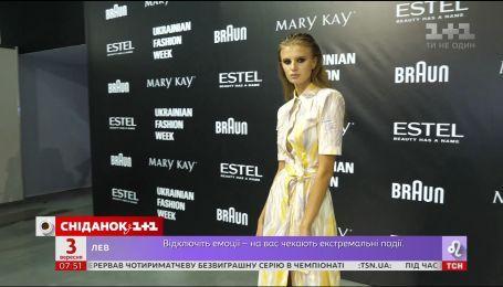 Дафна Мэй представила новую коллекцию на Ukrainian Fashion Week