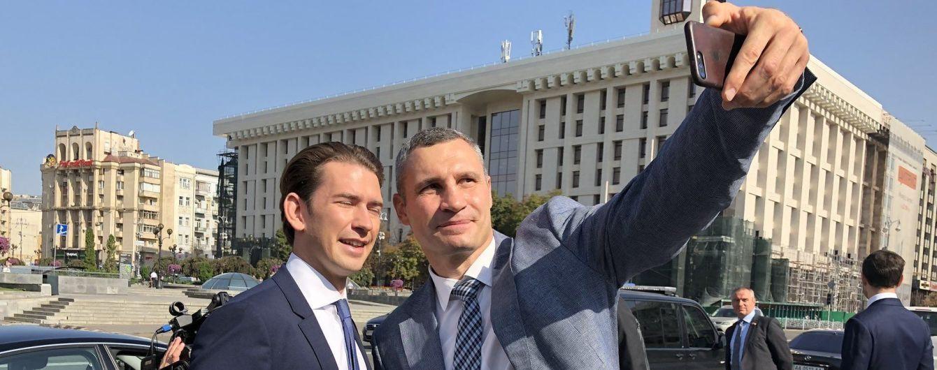 До Києва прибув канцлер Австрії