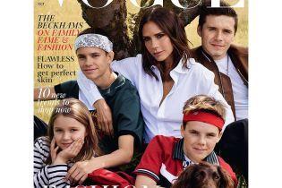 Звездное семейство в сборе: Бекхэмы вместе с детьми снялись в глянцевом фотосете