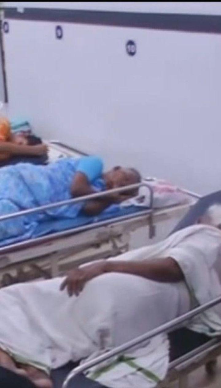 Сотні людей з інфекціями опинилися на лікарняних ліжках після паводку століття в Індії